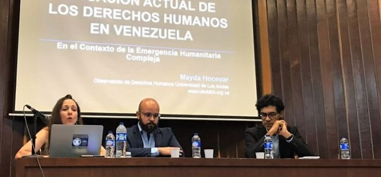 Political causes of the Venezuelan crisis were explained in Medellín