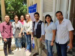 Victims represented by the ODH-ULA presented their cases to the IACHR delegation in Cúcuta