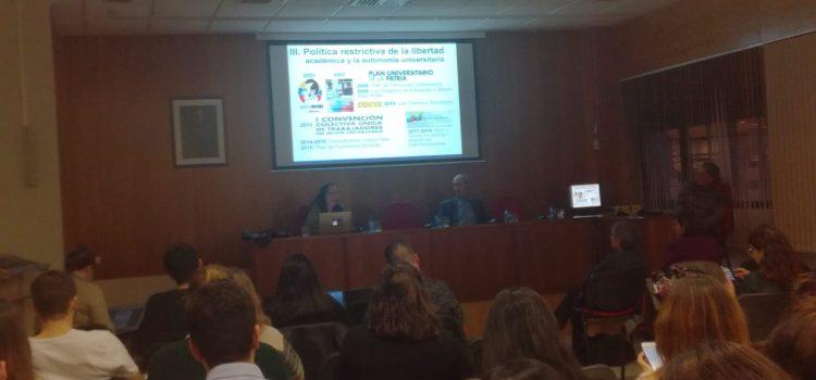 Observatorio de la ULA expuso en la Universidad de Salamanca  situación de derechos humanos en Venezuela