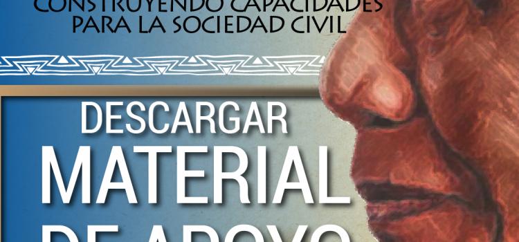 """Material de apoyo Madiba: """"Construyendo capacidades para la sociedad civil"""""""