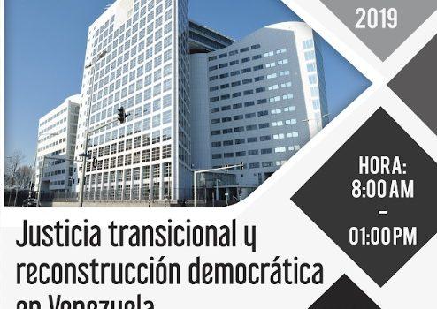 ODH-ULA ofrece conferencia sobre justicia transicional y reconstrucción democrática de Venezuela