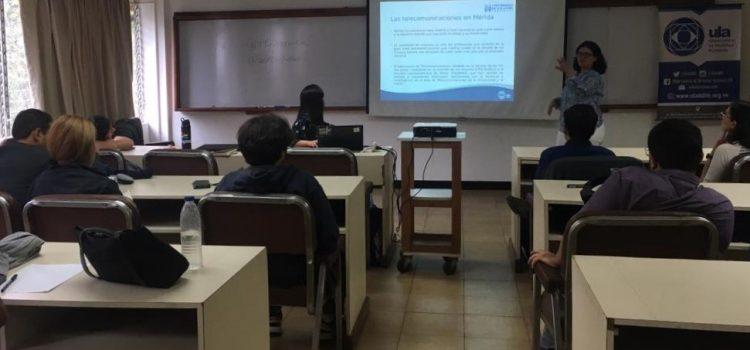 Censura digital y situación del internet en Venezuela fueron analizadas en Mérida