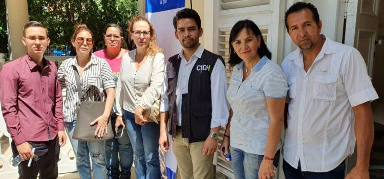 Víctimas representadas por el ODH-ULA expusieron sus casos a la delegación de la Cidh en Cúcuta