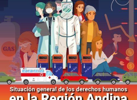 Situación general de los derechos humanos en la región andina. Marzo-septiembre 2020