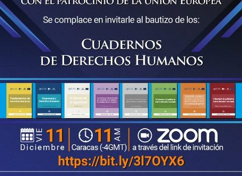 ODH-ULA bautiza sus primeros Cuadernos de Derechos Humanos