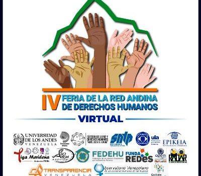 IV Feria de la Red Andina de Derechos Humanos será del 7 al 13 de diciembre