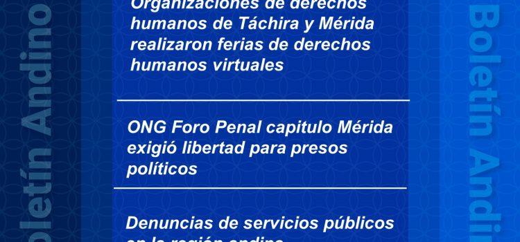 Boletín andino de derechos humanos Nº 74