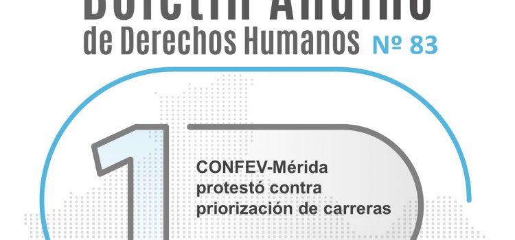 Boletín andino de derechos humanos Nº 83