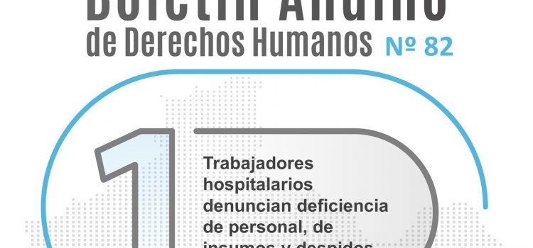 Boletín andino de derechos humanos Nº 82