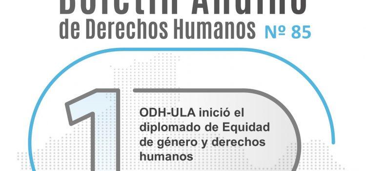 Boletín andino de derechos humanos Nº 85