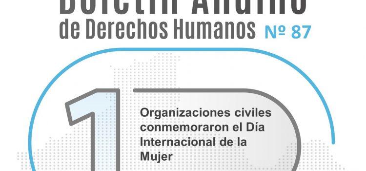 Boletín andino de derechos humanos Nº 87