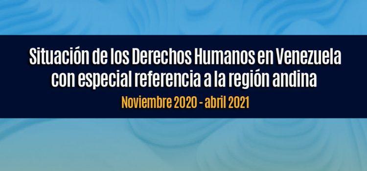 Informe noviembre 2020 - abril 2021