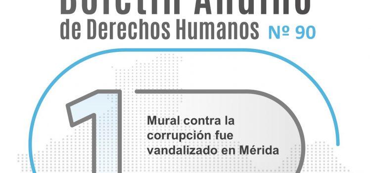 Boletín andino de derechos humanos Nº 90