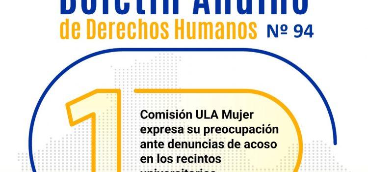 Boletín andino de derechos humanos Nº 94