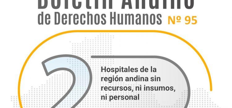 Boletín andino de derechos humanos Nº 95