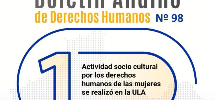 Boletín andino de derechos humanos Nº 98