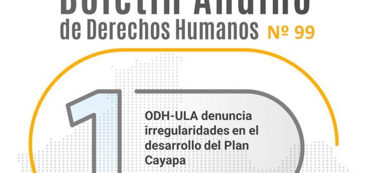 Boletín andino de derechos humanos Nº 99