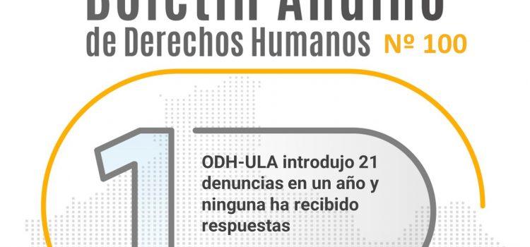 Boletín andino de derechos humanos Nº 100