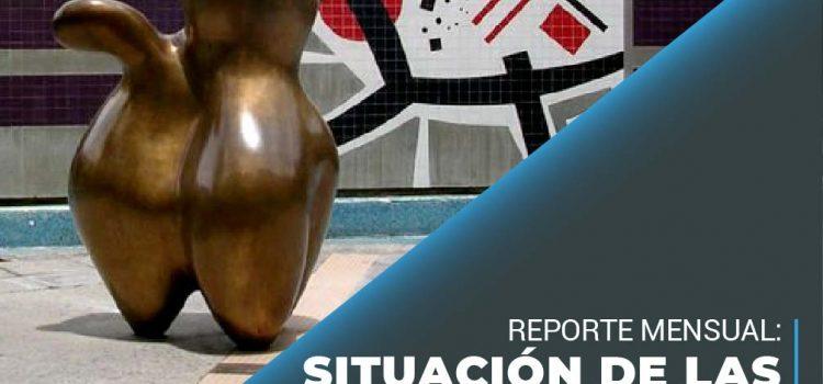 Situación de las universidades en Venezuela, Reporte mensual: Junio, 2021