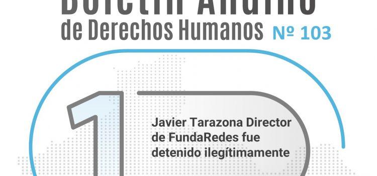 Boletín andino de derechos humanos Nº 103